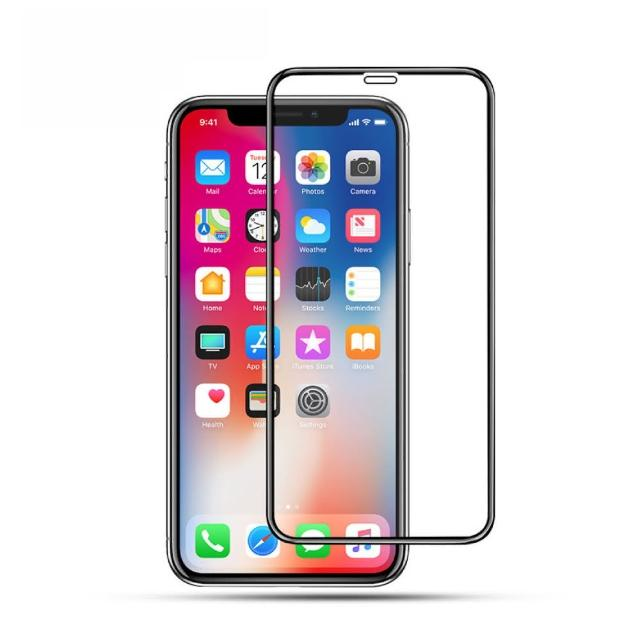iPhone 康寧 3D 滿版玻璃貼(iPhone 11 Pro MAX 超強疏油疏水鍍膜 鋼化膜 保護貼 i7 i6s i6 ix)