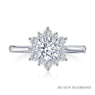【RUIEN DIAMOND 瑞恩鑽石】GIA30分 DVVS2 3EX(18K白金 鑽石戒指)