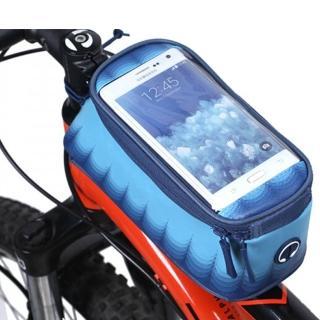【PUSH!】加大碼自行車前置物袋 手機袋 上管袋 工具袋可裝5.7吋屏手機(A61)