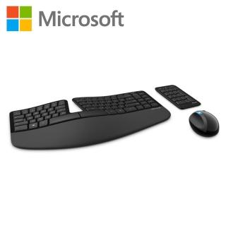 【Microsoft】Sculpt人體工學鍵鼠組(L5V-00025)