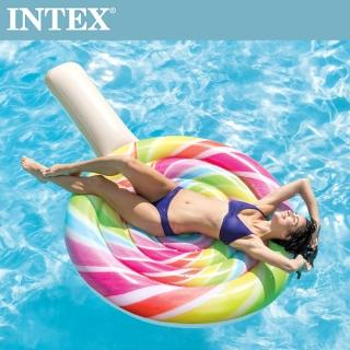 【INTEX】棒棒糖女孩浮排208*135cm(58753)