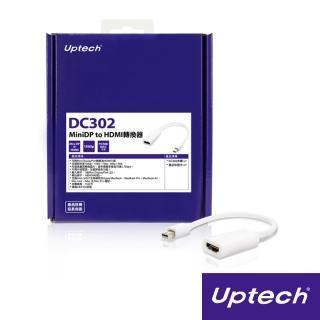 【Uptech】DC302 MiniDP to HDMI轉換器