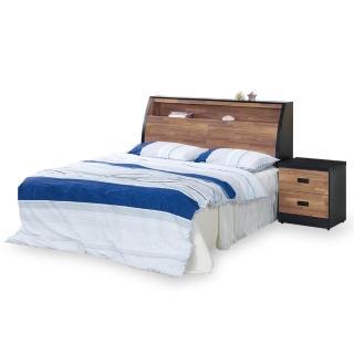 【時尚屋】本森積層木床箱型6尺加大雙人床-不含床頭櫃-床墊 G18-003-5+003-6(免運費 免組裝 臥室系列)