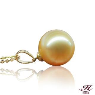 【禾美珠寶】天然南洋金珠項鍊BS055(18K金)