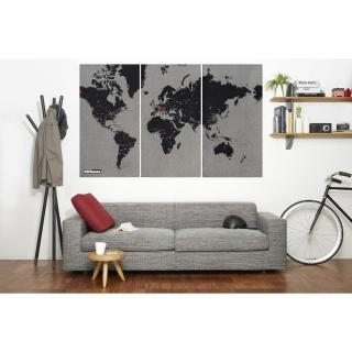 【palomar】拼世界地圖 XL版  黑色