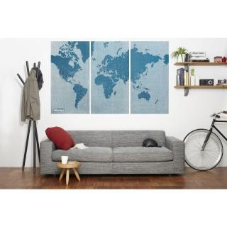 【palomar】拼世界地圖 XL版 藍色