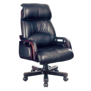 【AS】雷思麗黃牛皮升降辦公椅-70x70x132cm