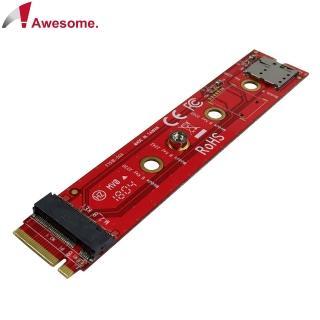 【Awesome 和順】NGFF M.2 B-M Key轉B Key轉接卡(AWD-DT-151B)