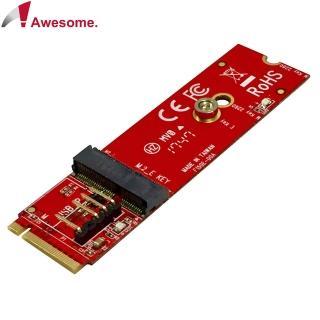【Awesome 和順】NGFF M.2 A-E Key轉 M Key轉接卡(AWD-DT-150E)