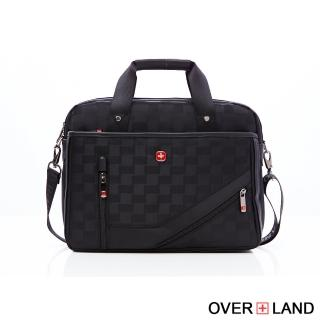 【OverLand】美式十字軍-美式風格都會雅痞公事包(3120)
