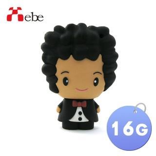 【Xebe集比】婚禮新郎造型隨身碟16G(造型USB送禮學生必備)