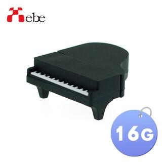 【Xebe集比】鋼琴造型USB隨身碟16G(造型USB送禮學生必備)