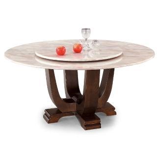 【AS】蘇珊粉彩玉石面圓桌-130x130x75cm