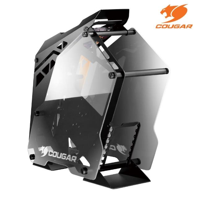 【COUGAR 美洲獅】CONQUER 鋼化玻璃 鋁合金架構機箱 機殼(Mini ITX / MicroATX / ATX)