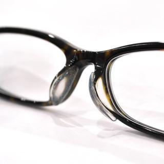 【KEL MODE】眼鏡配件-矽膠透明防滑鼻墊貼-2副(#M/L尺寸)