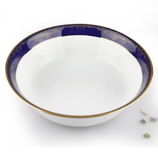 【NORITAKE】藍色樂章蔬菜缽22.7cm(日本皇室御用瓷器)