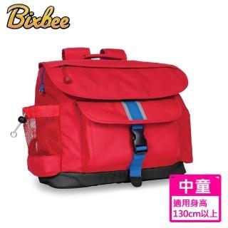 【美國Bixbee】經典系列活力紅中童輕量舒壓背書包
