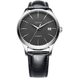 【FIYTA 飛亞達】經典系列簡約機械腕錶(WGA1010.WHB)