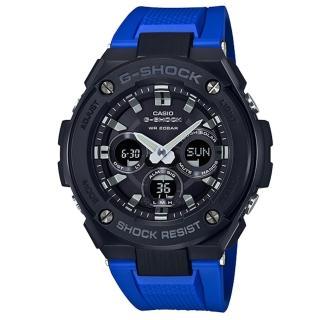 【CASIO 卡西歐】運動熱潮流行腕錶(GST-S300G-2A1DR)