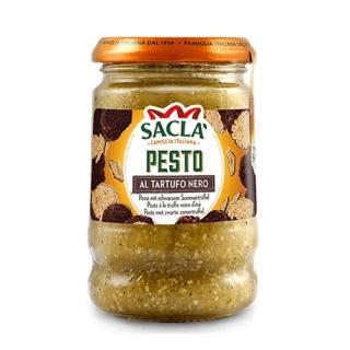 【Sacla】義大利頂級黑松露麵醬(190g)