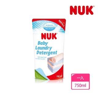 【NUK】嬰兒洗衣精補充包750ml/