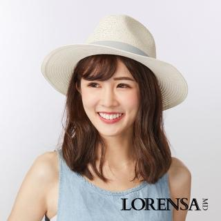 【Lorensa蘿芮】中性款 經典造型遮陽紳士草帽
