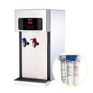 【德克生活】T2-2型桌上型冷熱飲水機(贈活水生飲機+免安裝費)