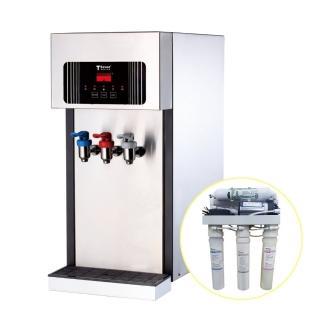 【德克生活】T2-3H型桌上型冰冷熱全沸騰飲水機(贈5道式RO逆滲透+免安裝費)