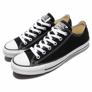 【CONVERSE】休閒鞋 All Star 男鞋 女鞋 低筒 運動 基本款 情侶鞋 復古 帆布 黑(M9166C)