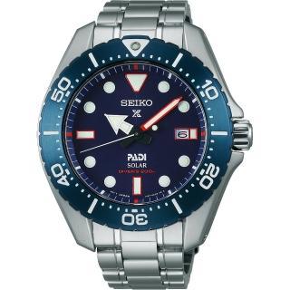 【SEIKO 精工】Prospex PADI 聯名限量太陽能鈦金屬腕錶(V157-0BS0B  SBDJ015J)