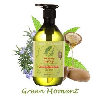 【Green Moment 自然奇機】有機健髮 - 能量豐盈洗髮露 - 有機迷迭香 & 快樂鼠尾草 500ml