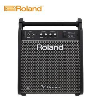 【ROLAND 樂蘭】PM100 電子鼓專用音箱(原廠公司貨 商品保固有保障)