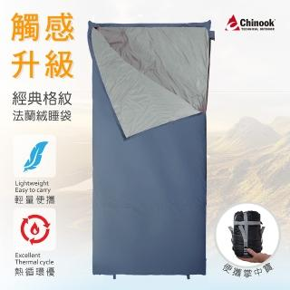 【Chinook】掌中寶法蘭絨睡袋20310(露營睡袋)