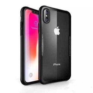 【G-CASE】晶透系列 iPhone X 透明玻璃 TPU包邊手機殼(TPU+玻璃殼)