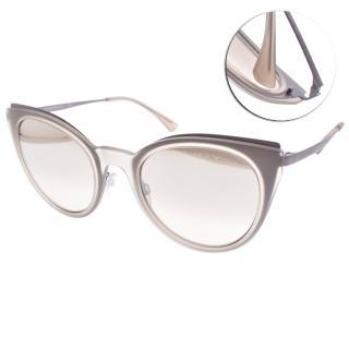 【EMPORIO ARMANI】前衛流行貓眼眼鏡(粉紫-淡白水銀#EA2063 32178Z)