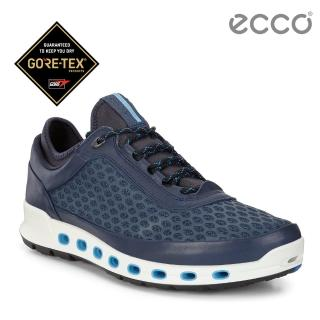 【ecco】ECCO COOL 2.0 360度環繞防水休閒運動鞋(藍 84250458960)