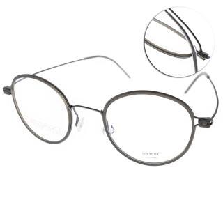 【VYCOZ 光學眼鏡】薄鋼工藝鈦系列(灰-銀#CARTER GUN)