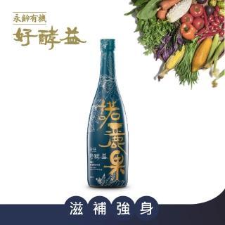 【永齡有機】諾麗果綜合蔬果發酵液600ml