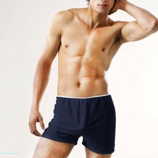 【安多輕旅行】棉感-型男免洗平口褲-買1送2 超值3包/9件(旅遊、健身、行軍必備)