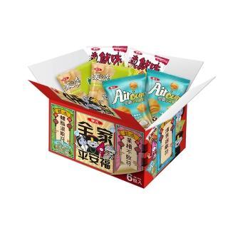 【華元】波的多蚵仔煎洋芋片量販箱258g(43gX6包入)