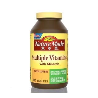 【NatureMade 萊萃美】綜合維生素加葉黃素錠(300錠/瓶)