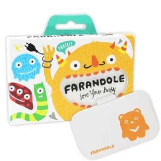 【FARANDOLE】嬰幼兒插座開關安全防護蓋 - 可愛小熊