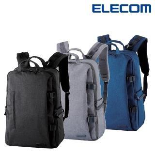 【ELECOM】帆布多功能大容量後背包II - L(DGB-S037)
