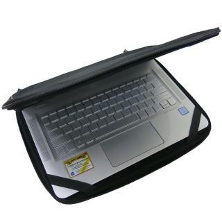 【Ezstick】HP ENVY 13-ab041TU 13-ab042TU 13吋L 通用NB保護專案 三合一超值電腦包組(防震包)
