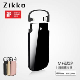 【ZIKKO】PowerBag PB6000 行動電源(蘋果MFi 授權 Lightning/免帶線充電)