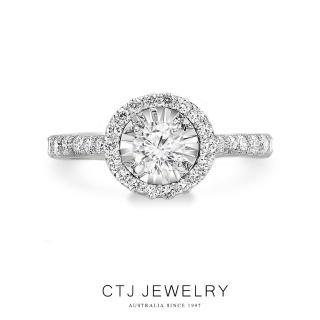 CTJ 奇蹟鑽石光面30分鑽戒