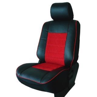 【葵花】量身訂做-汽車椅套-日式合成皮-賽車條紋-B款(轎車款第1+2排)