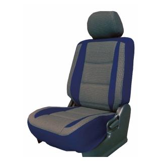 【葵花】量身訂做-汽車椅套-日式合成皮-賽車流線配色(雙前座-第一排)