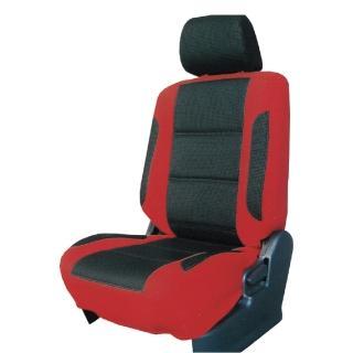 【葵花】量身訂做-汽車椅套-日式合成皮-賽車時尚配色(轎車款第1+2排)