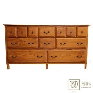 【吉迪市柚木家具】多層式抽屜矮櫃/斗櫃/衣櫃